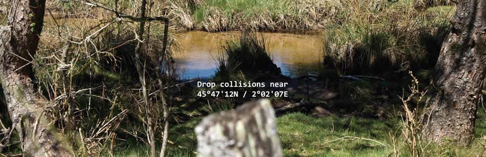 [RII-I] Bruno Moreigne – Drop collisions near 45°47'12N / 2°02'07E